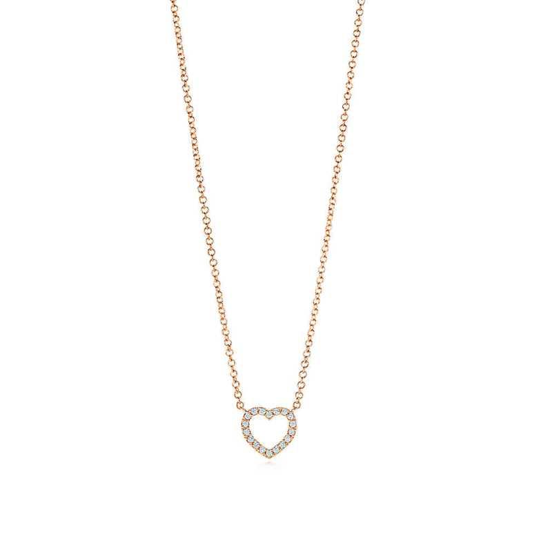 Tiffany-Metro Heart Pendant $1550
